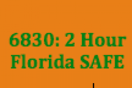 (Sep 19, 2017 5pm-9pm EST) 6830 2 Hour FL SAFE: Licensing Education FS494