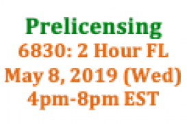 (05/08/2019 4pm-8pm EST) 6830: 2 Hour Florida SAFE: Requirements and Expectations