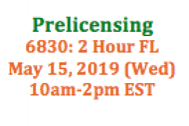 (05/15/2019 10am-2pm EST) 6830: 2 Hour Florida SAFE: Requirements and Expectations