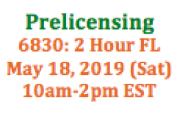 (05/18/2019 10am-2pm EST) 6830: 2 Hour Florida SAFE: Requirements and Expectations