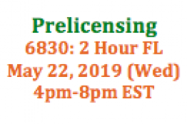 (05/22/2019 4pm-8pm EST) 6830: 2 Hour Florida SAFE: Requirements and Expectations